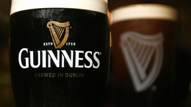 There's no such thing as just one pint of Guinness.