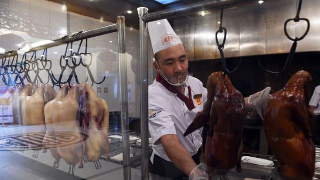 Pato à Pequim - apenas uma das muitas delícias culinárias chinesas.