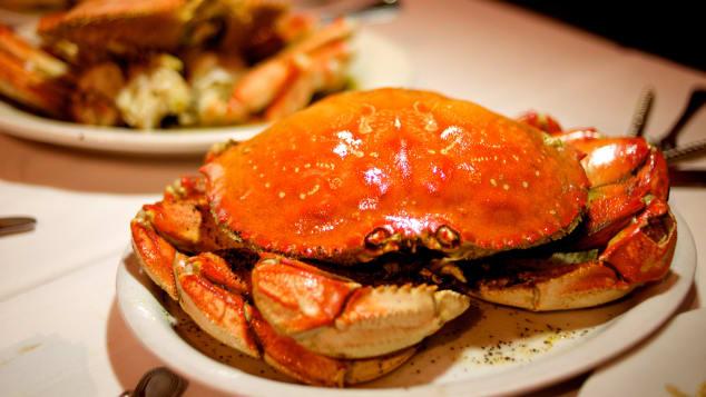خرچنگ شکم پر