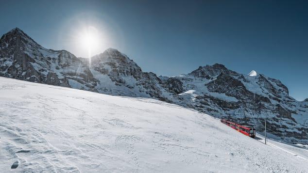 Jungfrau snow