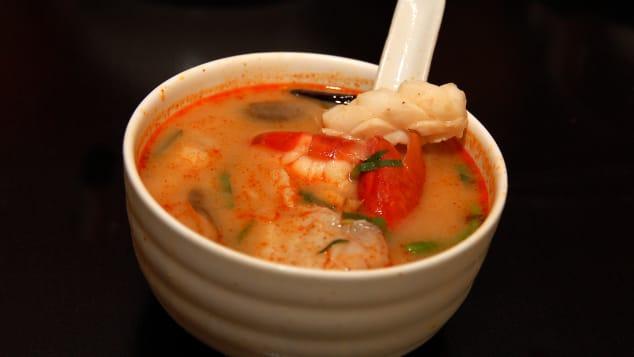 スープは食べますか? いずれにせよ、ただそれをあなたの中に入れてください。