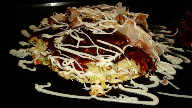 "The name okonomiyaki is loosely translated as ""as you like it."""