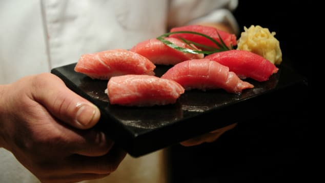 Sushi is one of the most well-known Japanese dishes in the world.