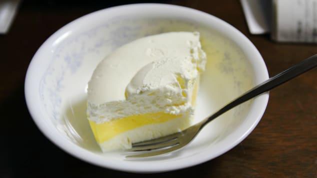 "Japanese rare cheesecake is made from fresh (""rare"") cream or ricotta cheese."