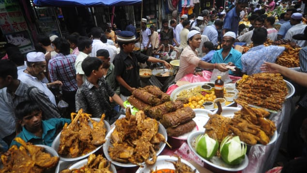 In Kuala Lumpur, the Ramadan Bazaar offers fantastic food after sunset for those looking to break their fast. Non-Muslims are welcome, too.