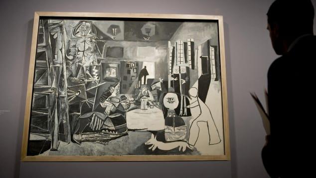 Pablo-Picasso-Meninas