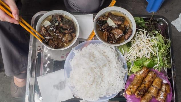 Các bữa ăn trưa hoàn hảo.