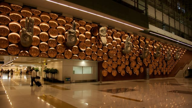 Indira Gandhi International Airport in New Delhi is part of India's growth as an aviation market.