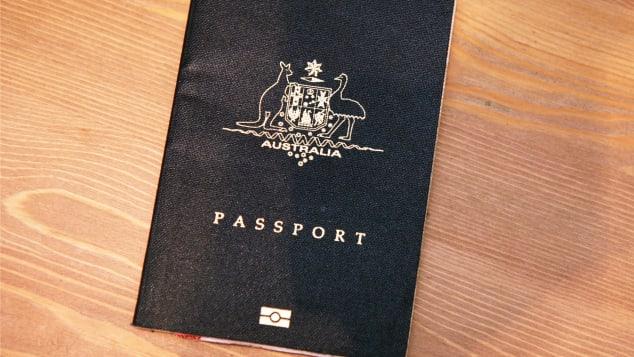 australia passport stock tease