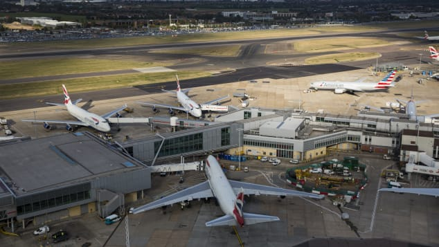 Heathrow Airport is number 8 on Skytrax's list.