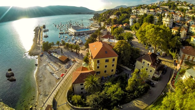 Herceg Novi is glorious coastal town with varied architecture and an interesting history.