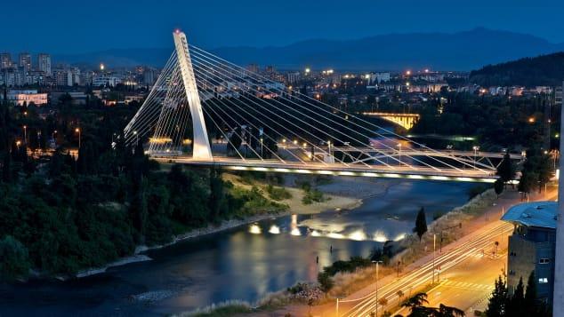 Podgorica_Millenium bridge_Photo NTO archives