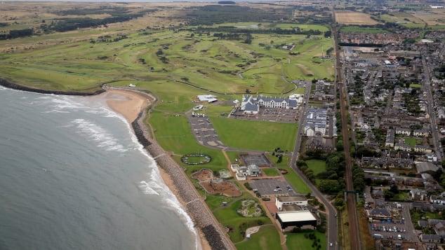 Best golf courses  England Scotland British Open Carnoustie