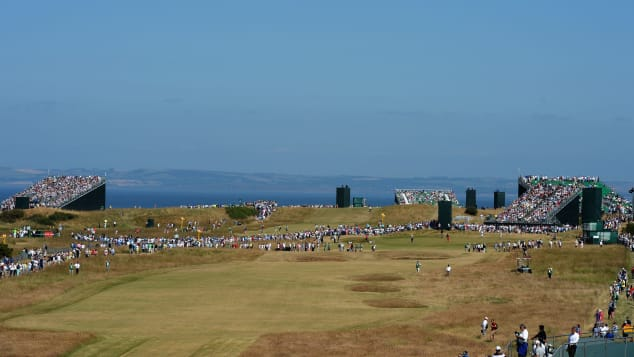 Best British Open golf courses Scotland Muirfield general view