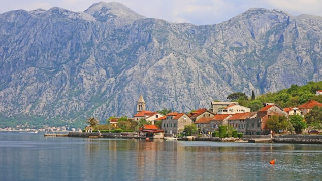 The spectacular views of the Old Town of Kotor.