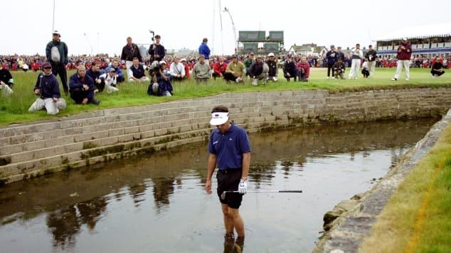 Best British Open courses Jean Van de Velde Carnustie