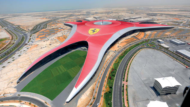Ferrari World has more than 20 attractions.