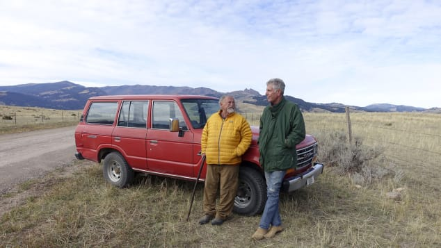 Tony spoke with author, Jim Harrison after a drive through Paradise Valley, Montana.