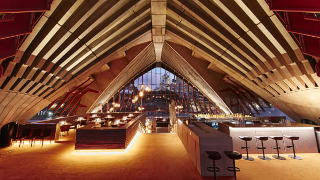 Bennelong is a fine dining restaurant inside the Sydney Opera House.