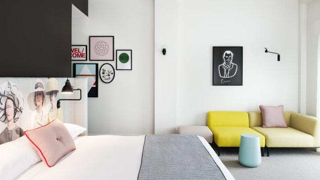 A bedroom at Ovolo Woolloomooloo