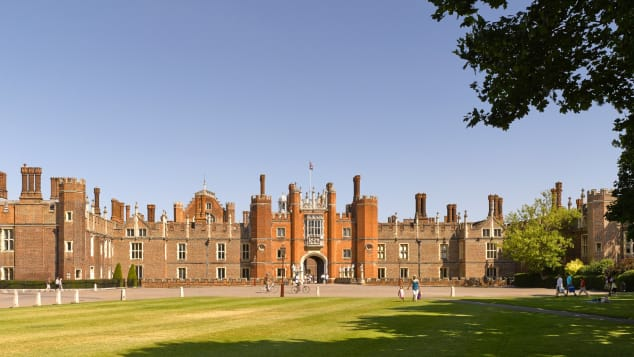 Hampton Court Palace Tudor Front Credit -¬Historic Royal Palaces