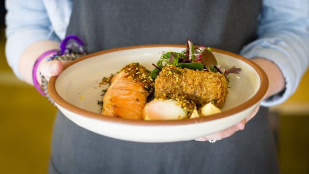 Devon Cafe, located in Surry Hills, is a brunch hotspot.