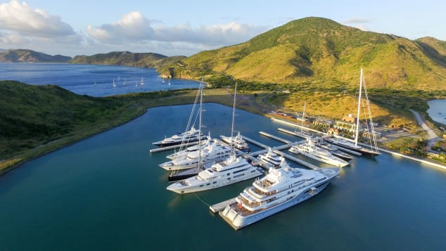 Christophe Harbour, in Saint Kitts and Nevis
