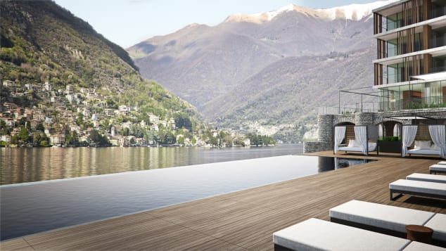 Il Sereno mixes Scandinavian and Japanese influences on the shores of Lake Como.