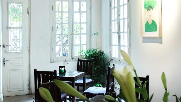 Manzi art cafe, Hanoi
