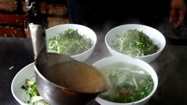 Pho Thin restaurant, Hanoi