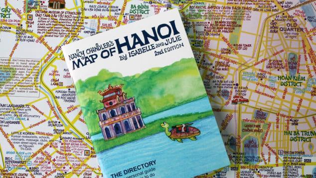 Nancy Chandler's Map of Hanoi