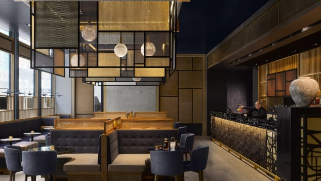 Best new hotels 2018 Nobu Hotel Shoreditch interior