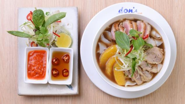 Don's Bistro Hanoi, duck pho a l'orange