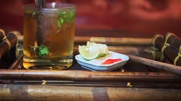 Ne Cocktail Bar pho cocktail, Hanoi