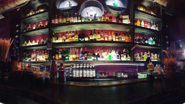 Ne Cocktail Bar interiors, Hanoi