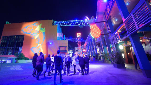 You may find smaller crowds at Orlando-area theme parks, such as Universal Orlando Resort's CityWalk, in early to mid-December.