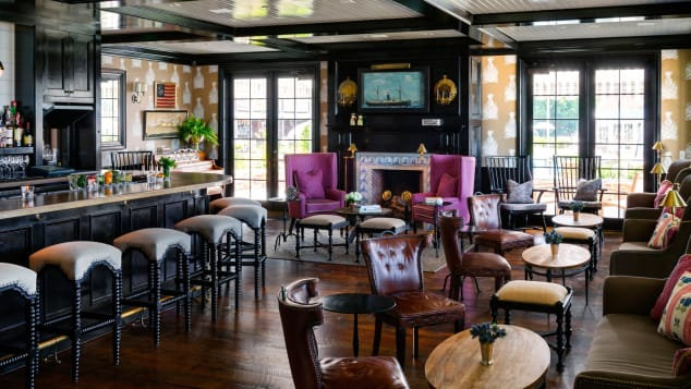 Baron's Cove is an atmospheric spot within walking distance of Sag Harbor's many attractions.