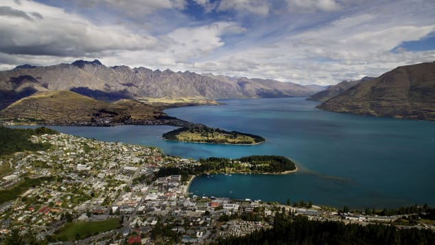 New Zealand's Queenstown attracts more than three million visitors a year.