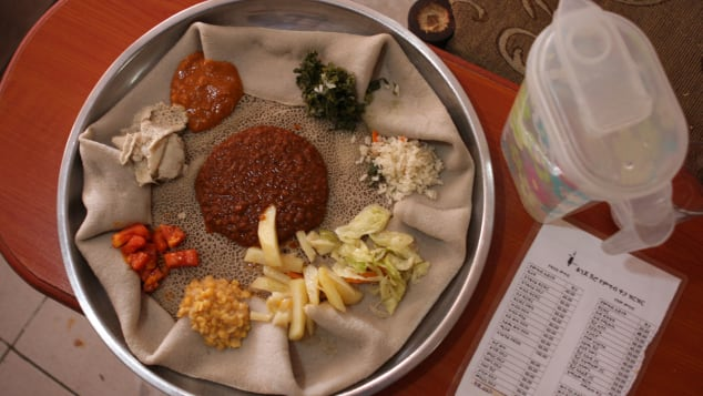 Addis Ababa best things injera