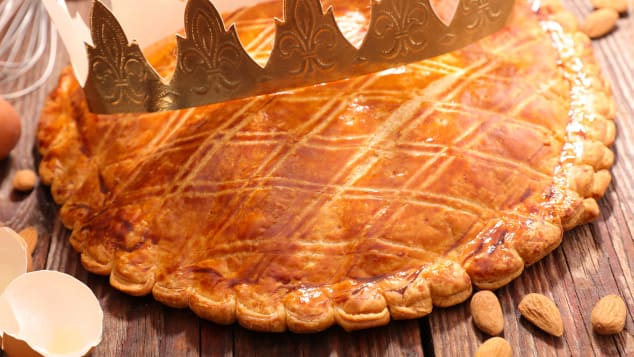 The French do enjoy their galette des rois.