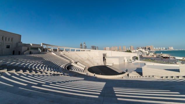 Katara's amphitheater