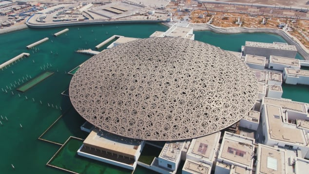 The Louvre Abu Dhabi is a must-visit for art lovers.