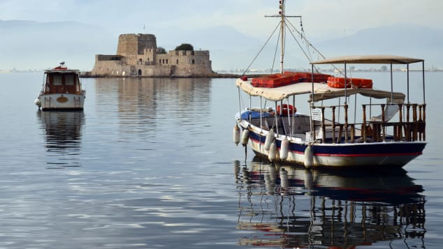 Nafplio was the first capital of modern Greece and home to several spectacular forts.