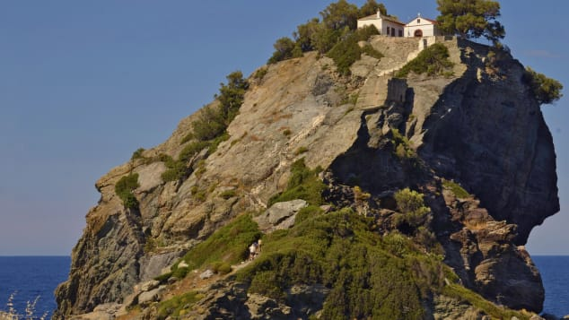 """Mamma Mia"" fans might recognize the island of Skopelos from the big screen."