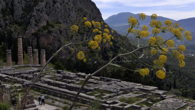 Delphi is a spectacular archaelogical site.