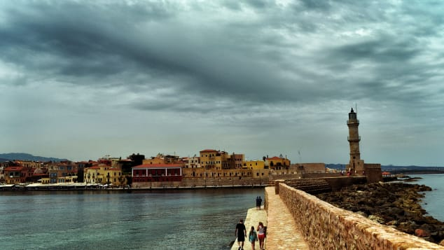 Thanks to its waterfront views, Chania is often called Greece's most beautiful town.