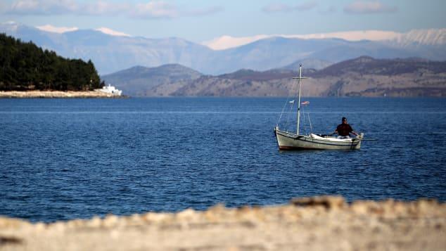 Corfu is an idyllic Greek island.