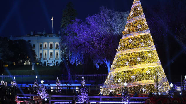 White House  Annual Christmas Tree Lighting Ceremony