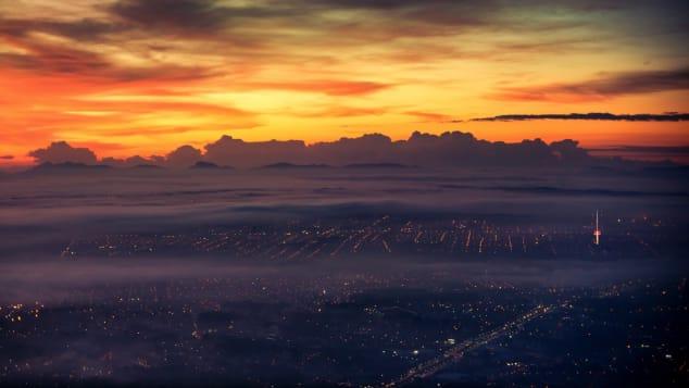 Curitiba Brazil, runway morning fog_CNN