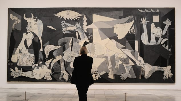 Madrid is an artistic center -- home of Picasso's Guernica, pictured.